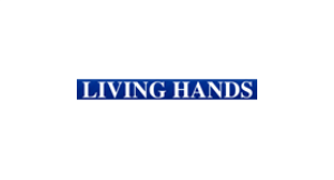 Living Hands logo