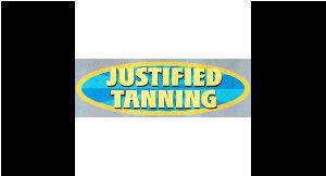 Justified Tanning LLC logo