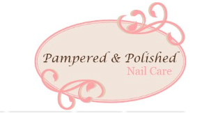 Pampered  & Polished Nail Care logo