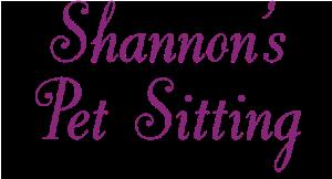 Shannon's Pet Sitting logo