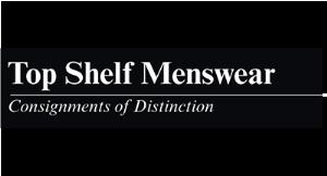 Top Shelf Menswear, Consignments of Distinction logo