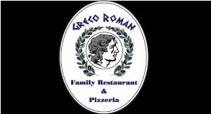 Greco Roman Family Restaurant & Pizzeria logo