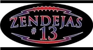 Zendejas #13 logo