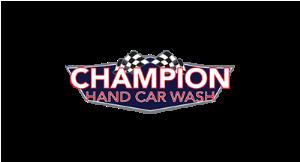 Champion Hand Car Wash logo