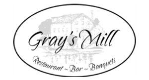 Gray's Mill Restaurant ~ Bar ~ Banquets logo
