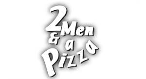2 Men & A Pizza logo