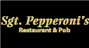 Sgt. Pepperoni's Restaurant & Pub logo