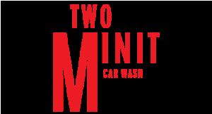 Two Minit Carwash logo