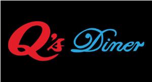 Q's Diner logo