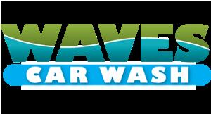 Waves Car Wash logo