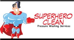 Super Hero Clean Pressure Washing logo