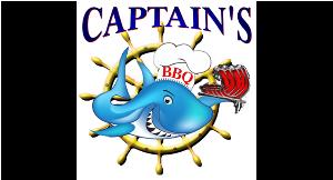 Captain's BBQ logo