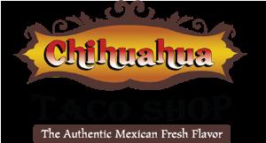 Chihuahua Taco Shop logo