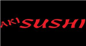 Aki Sushi logo