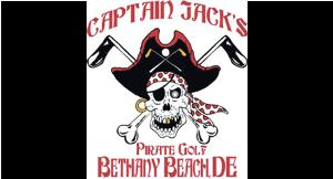 Captain Jack's Pirate Golf logo