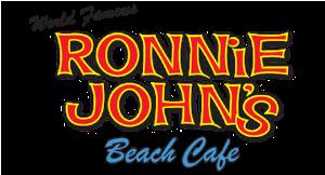 Ronnie John's Beach Cafe logo