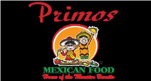 Primos Mexican Food logo