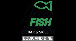 Green Fish Waterfront Bar & Grill logo