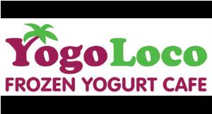 Yogo Loco Frozern Yogurt Cafe logo