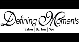 Defining Moments Salon, Barber & Spa logo