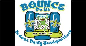 Bounce De Lis Indoor Party Headquarters logo