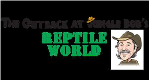 Jungle Bobs Reptile World logo