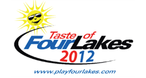 Taste of Four Lakes Food & Music Festival Sat., Sept. 15Th, 2012 logo