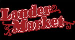 Lander Market logo