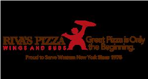 Riva's Pizza logo