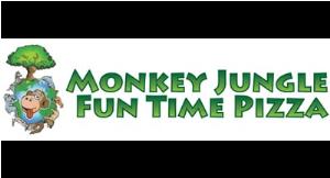 Monkey Jungle Fun Time Pizza logo
