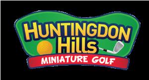 Huntingdon Hills Miniature Golf logo