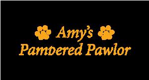 Amy's Pampered Pawlor logo