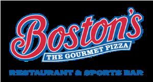 Boston's: The Gourmet Pizza logo