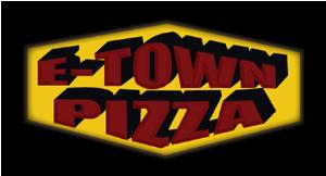 E-Town Pizza logo