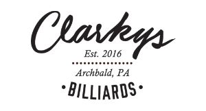 Clarkys Billiards logo