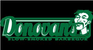 Donovan's BBQ logo
