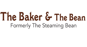 The Baker & The Bean (Formerly The Steaming Bean) logo