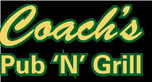 Coach's Pub 'N' Grill logo