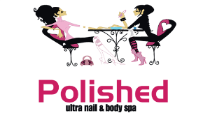 Polished Nails & Body Spa logo