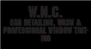 W.N.C Car Detailing & Wash logo