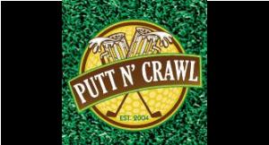 Putt N' Crawl logo
