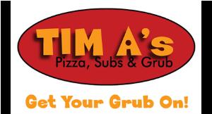 Tim A's Pizza, Subs & Grub logo