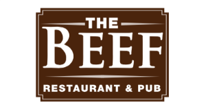 The Beef Restaurant logo
