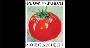 Plow to Porch Organics logo