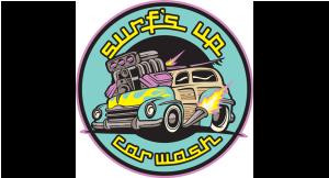 Surf's Up Car Wash logo