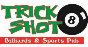 Trick Shot Billiards & Sports Pub logo