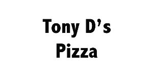 Tony D's Pizza logo