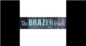 The Brazen Brush logo