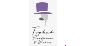 Tophat Beauticians & Barbers logo