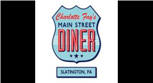 Charlotte Fay's Main Street Diner logo